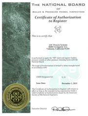 ASC';s National Board Certificate