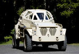 Autoclaved materials used for Armor vehicles