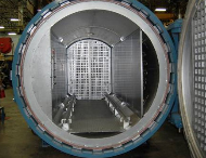 Glass Laminating autoclave at ASC