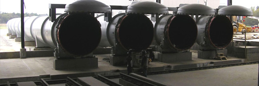 Autoclaved aerated concrete (AAC) autoclave systems