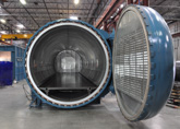The Econoclave is an high performace aerospace autoclave