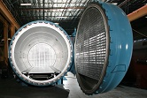 The Econoclave is an energy efficient aerospce autoclave