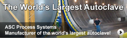 ASC built the world's largest composites autoclave