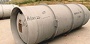 30B UF6 containment Cylinder
