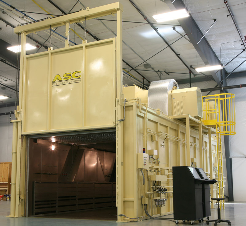 Large ASC walk-in composites oven